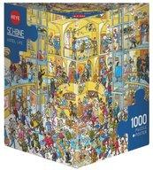 Puzzle 1000 Dzień jak co dzień w hotelu + plakat