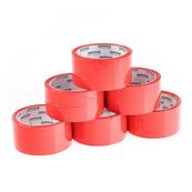 Taśma pakowa czerwona 48mm / 50yds / 36mic OFFICE PRODUCTS p6 cena za 1 szt
