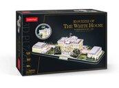 Puzzle 3D LED Biały dom L529H