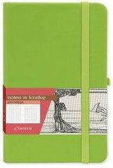 Notes A7 Kratka Secesja Zielony ANTRA