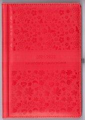Kalendarz nauczyciela 2021/2022 czerwony WYPIÓR