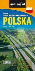 Mapa samochodowo-krajoznawcza - Polska 1:650 000