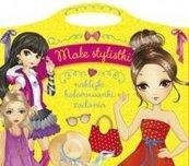 Małe stylistki Naklejki, kolorowanki, zadania