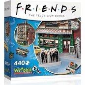 Wrebbit Puzzle 3D 440 el Przyjaciele Central Perk
