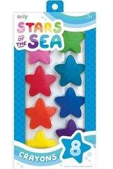Kredki Gwiazdy Oceanu Stars Of The Sea 8szt