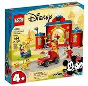 Lego MICKEY AND FRIENDS Remiza i wóz strażacki