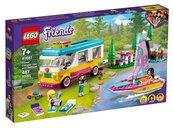 Lego FRIENDS Leśny mikrobus kempingowy i żaglówka