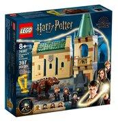 Lego Harry PotterHogwart spotkanie z Puszkiem