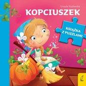 Książka z puzzlami Kopciuszek