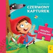 Książka z puzzlami Czerwony kapturek