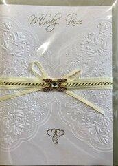 Karnet ślubny B6 Premium 48 + koperta