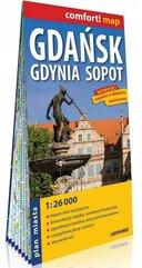 Comfort!map Gdańsk, Gdynia, Sopot 1:26 000