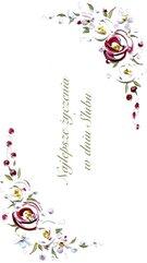 Karnet Ślub DL S29 - Najlepsze Życzenia