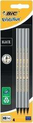 Ołówek Evolution Black bez gumki bls 4szt BIC