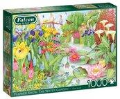 Puzzle 1000 Falcon Ogród wodny