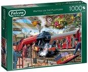 Puzzle 1000 Falcon Czekając na pociąg