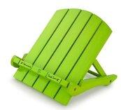 Book Chair podstawka pod książkę/tablet zielona