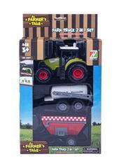 Traktor z 2-ma przyczepami 1003754