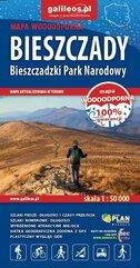 Mapa tur. - Bieszczady - Bieszczadzki Park...