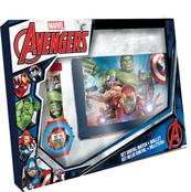 Zestaw zegarek cyfrowy z portfelikiem MV15407 Avengers Kids Euroswan