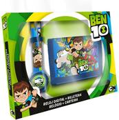 Zestaw zegarek cyfrowy z portfelikiem Ben 10 BT17010 Kids Euroswan