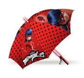 Parasolka manualna ze światełkami 46cm Ladybug LB17105 Kids Euroswan