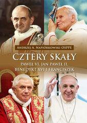 Cztery skały Paweł VI, Jan Paweł II, Benedykt XVI i Franciszek