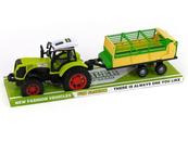 Traktor z przyczepą napęd pod kloszem 479036 ADAR