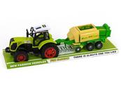 Traktor z maszyną rolniczą napęd pod kloszem 482470 ADAR