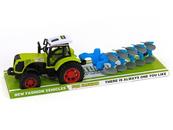 Traktor z przyczepą i napędem pod kloszem 482524