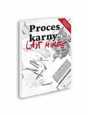 Last Minute Proces karny 2021