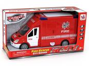 Auto straż pożarna z napędem