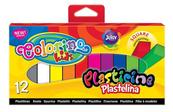 Plastelina 12 kol. kwadratowa Colorino Kids new 57417