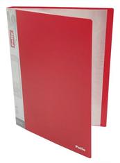 PROMO Teczka A4 40 koszulek clear book czerwona PAT6404 Patio