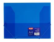 Teczka na gumkę A4 transparentna niebieska PAT4003S/N/18 Patio