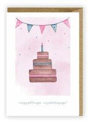Kartka urodzinowa, eko koperta K019