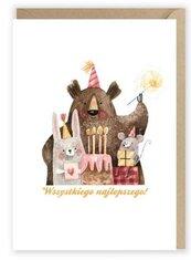 Kartka urodzinowa Wszystkiego najlepszego! K011