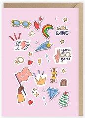 Kartka okolicznościowa Girls Power K106