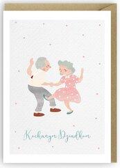 Kartka na Dzień Babci i Dziadka K053