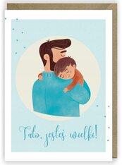 Kartka okolicznościowa Dzień Taty K049