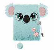 Pamiętnik z kłódką 3D włochacz A5 96k linia Koala