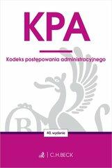 KPA Kodeks postępowania administracyjnego
