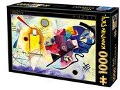 Puzzle 1000 Kandinsky, Żółty, czerwony, niebieski