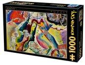 Puzzle 1000 Kandinsky, Obraz z czerwonym punktem