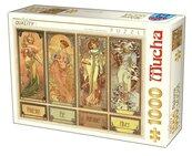 Puzzle 1000 Alfons Mucha, Cztery sezony