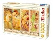 Puzzle 1000 Alfons Mucha, Cztery pory roku