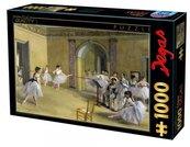 Puzzle 1000 Edgar Degas, Nauka tańca