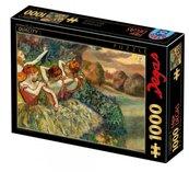 Puzzle 1000 Edgar Degas, Cztery tancerki