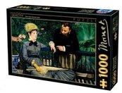 Puzzle 1000 Manet, Rozmowa