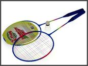 Badminton metalowy 64cm z lotką w siatce HAN07